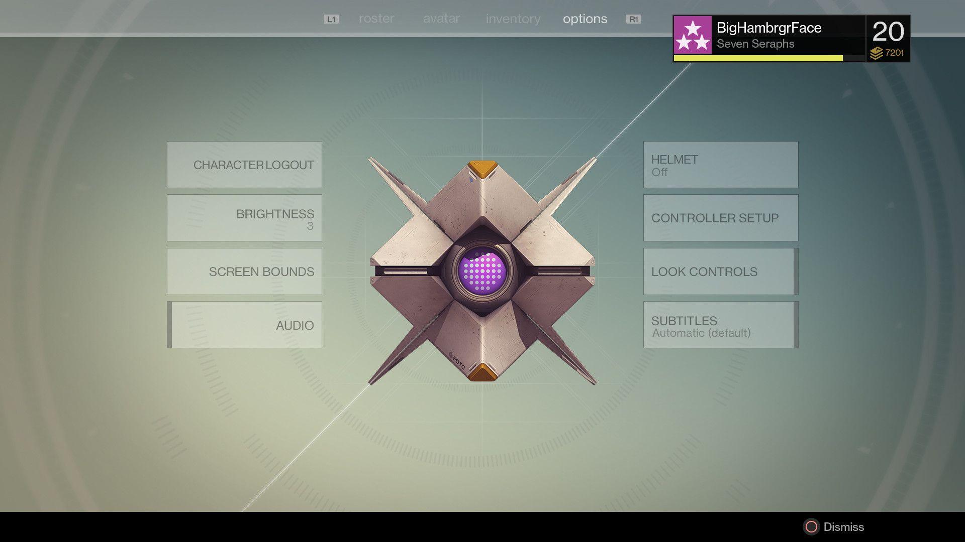 Destiny ui design