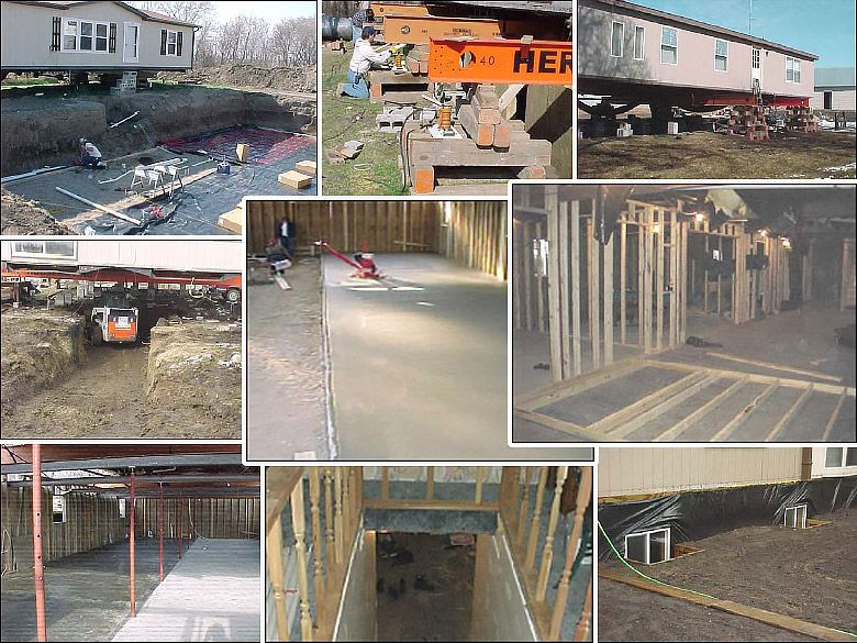 How To Build A Mobile Home Basement Mobile Home Mobile Home Repair Mobile Home Doors
