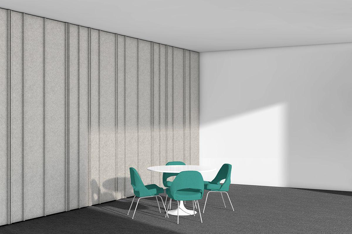 Filzfelt Flex Room Wall Coverings Plank