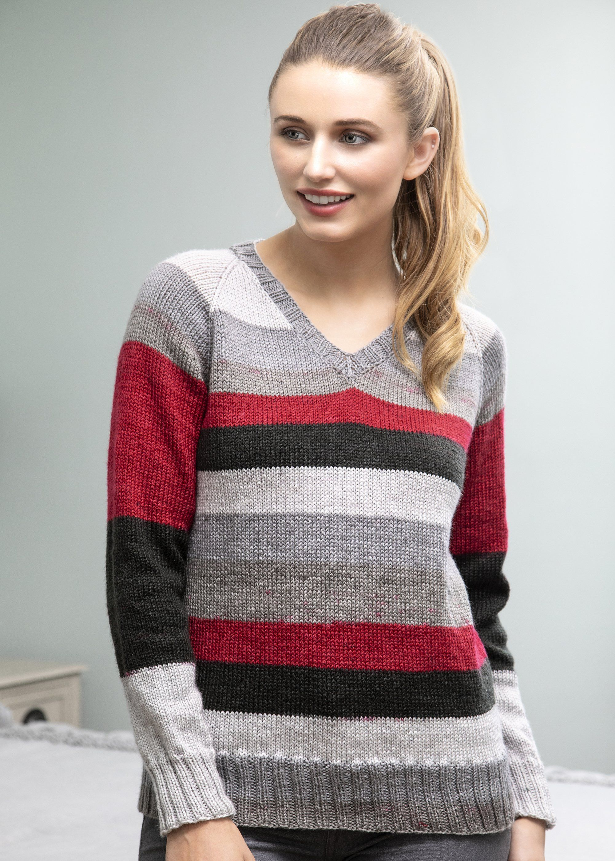 Courier Pullover in 2020 | Knitting patterns, Sweater ...