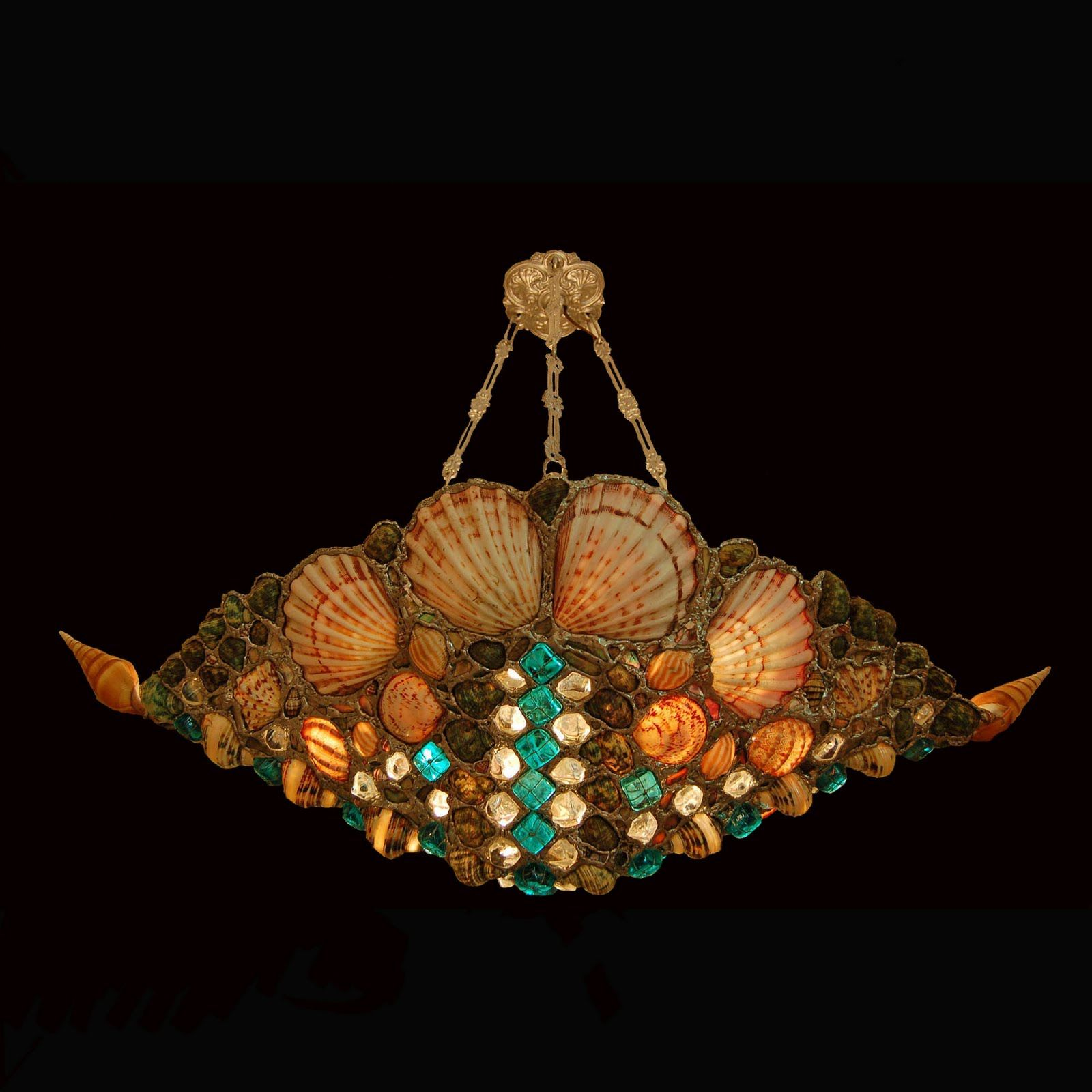 Seashell Lighting by Drake Lamps Seashell lamps