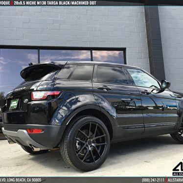 Black Land Rover Range Rover Evoque Blackout Package 20x8 5