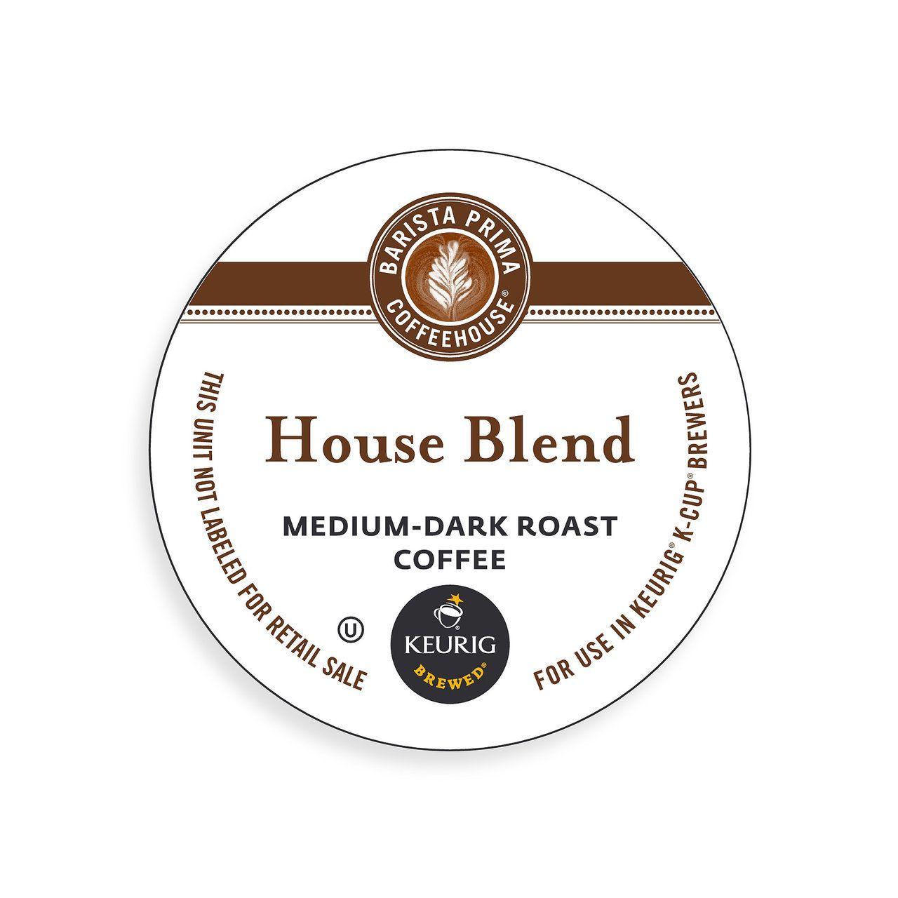 House blend mediumdark roast coffee coffee tea
