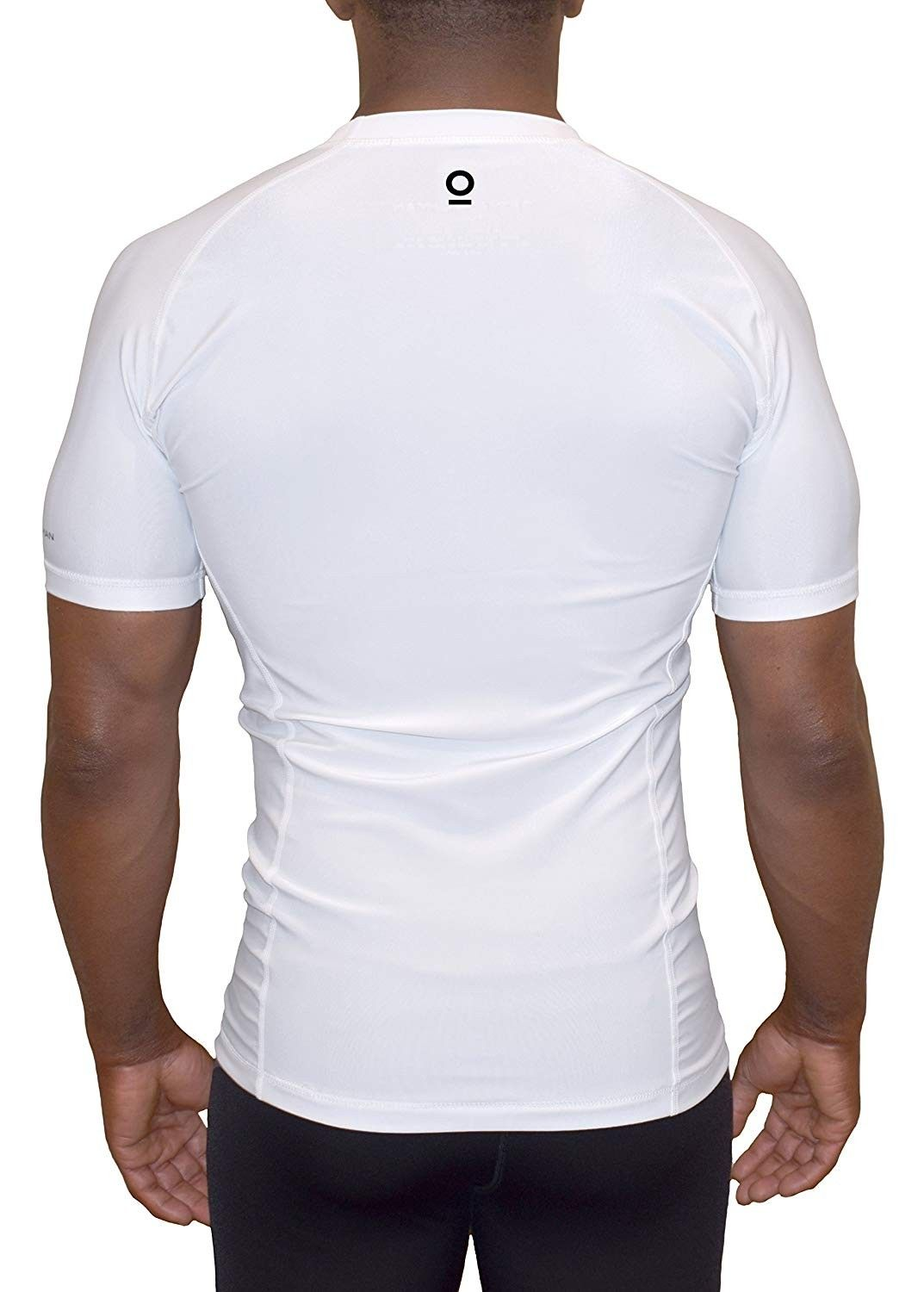 Compression Base Layer Mens Armour Short Sleeve Top Skin Tight Baselayers shirt