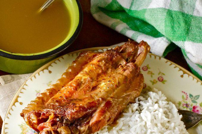 Creole Stuffed Turkey Wings #cajuncooking
