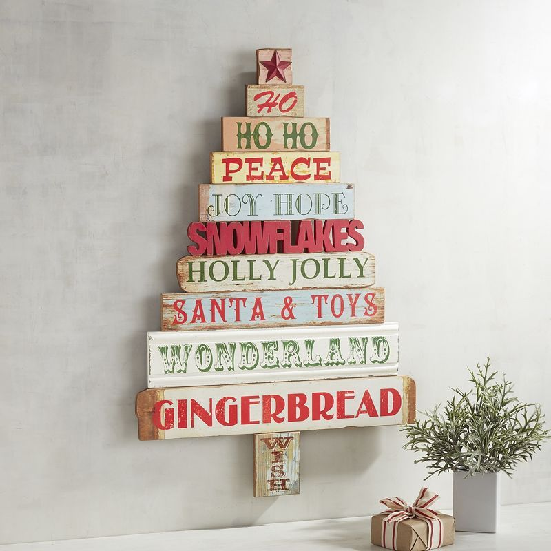 Sentiments Tree Wall Decor Pier 1 Imports Christmas Pinterest