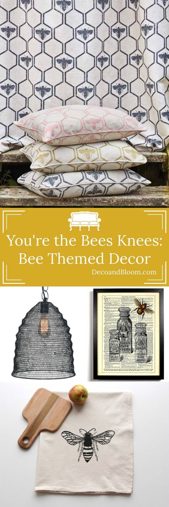 Bee Themed Home Decor