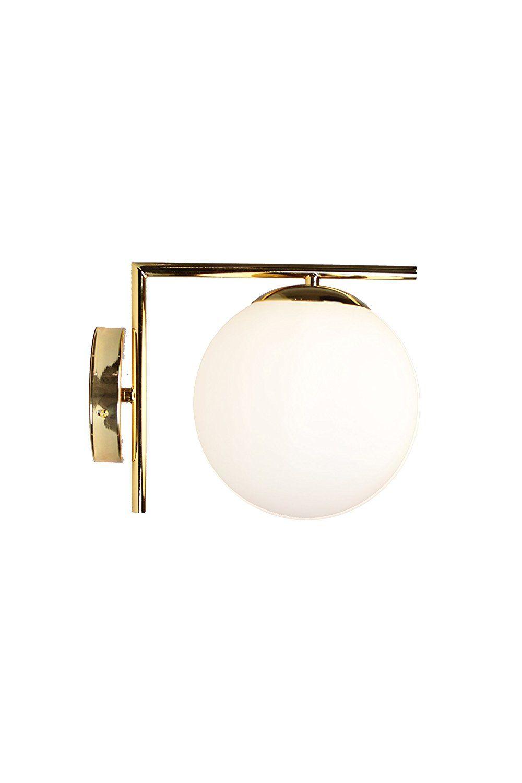 big sale dee5a 870e6 EQLight EQMCWB02 Mid Century Light Mid Century Brass Wall ...