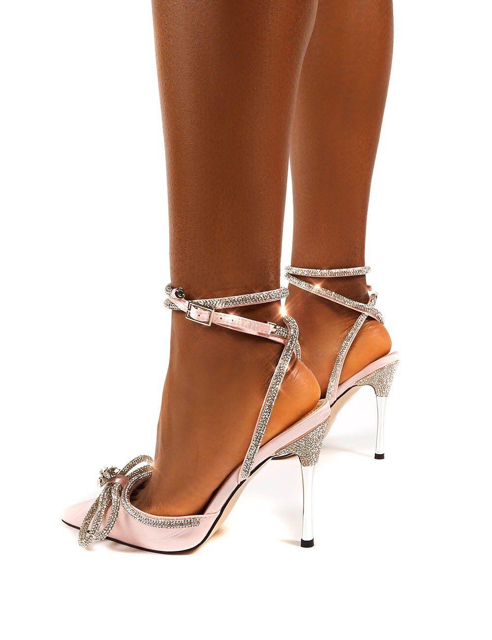 Natalia Rose Gold PU Lace Up Flat Sandals | Public Desire