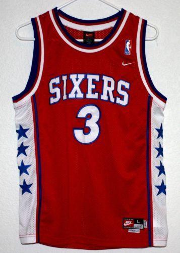 ... Shirts Cheap Retro Nike-Allen-Iverson-3-Sixers-76ers-Basketball-Jersey-  . 35e3f40bf