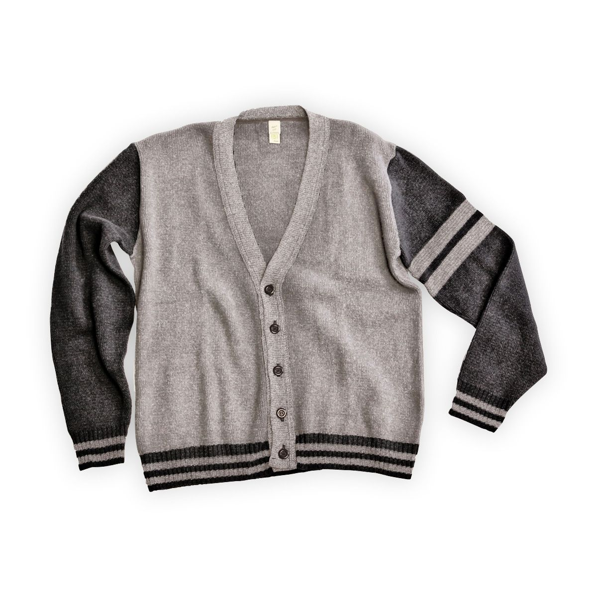 Men's Recycled USA-made Collegiate Cardigan | Made in USA clothing ...