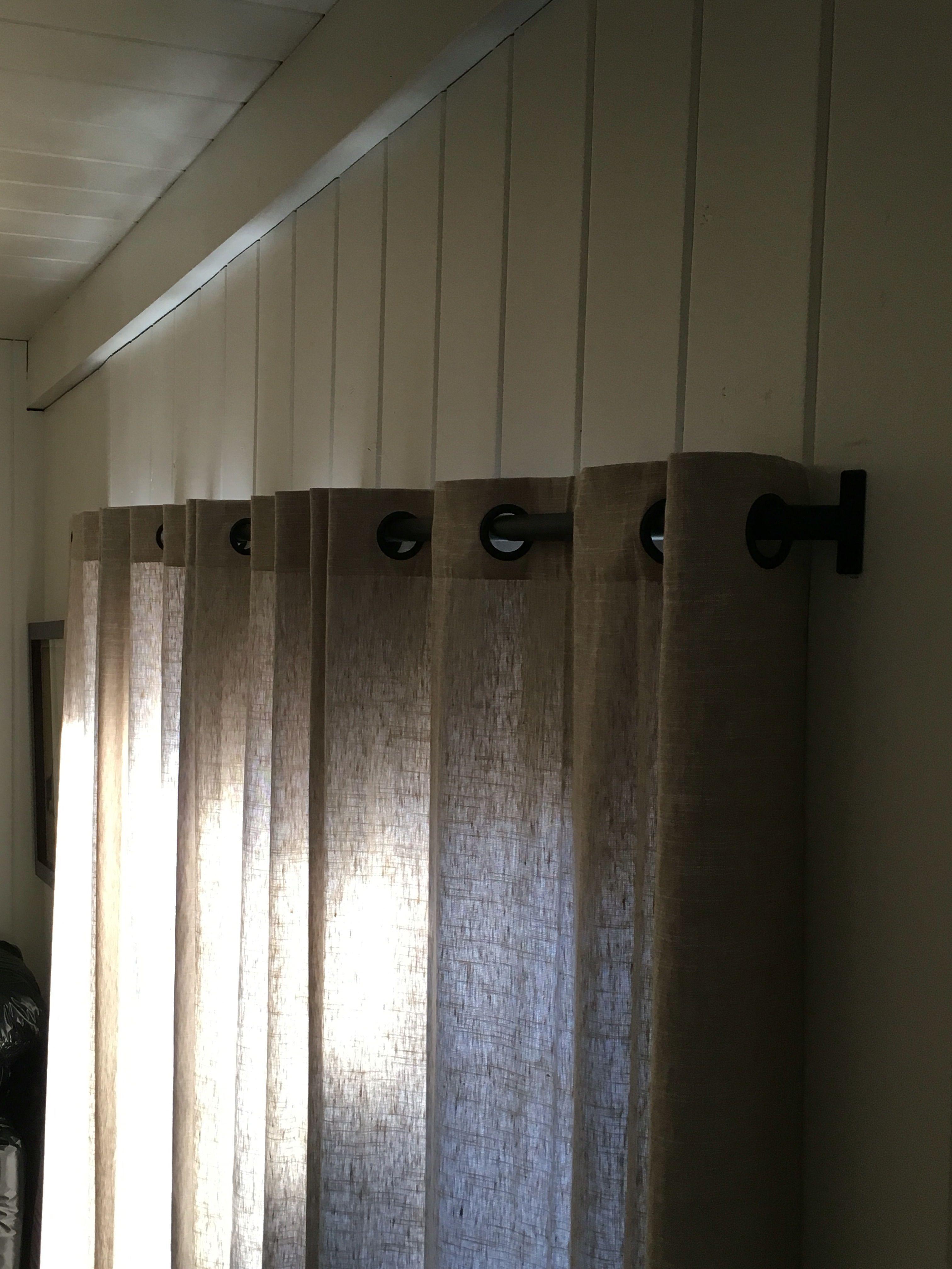 1 Curtain Rod Industrial Rod Modern Iron D Ry