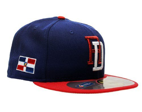 a80fae1f4fd ... new style new era 59fifty dominican republic world baseball classic  mens fitted hat red royal blue