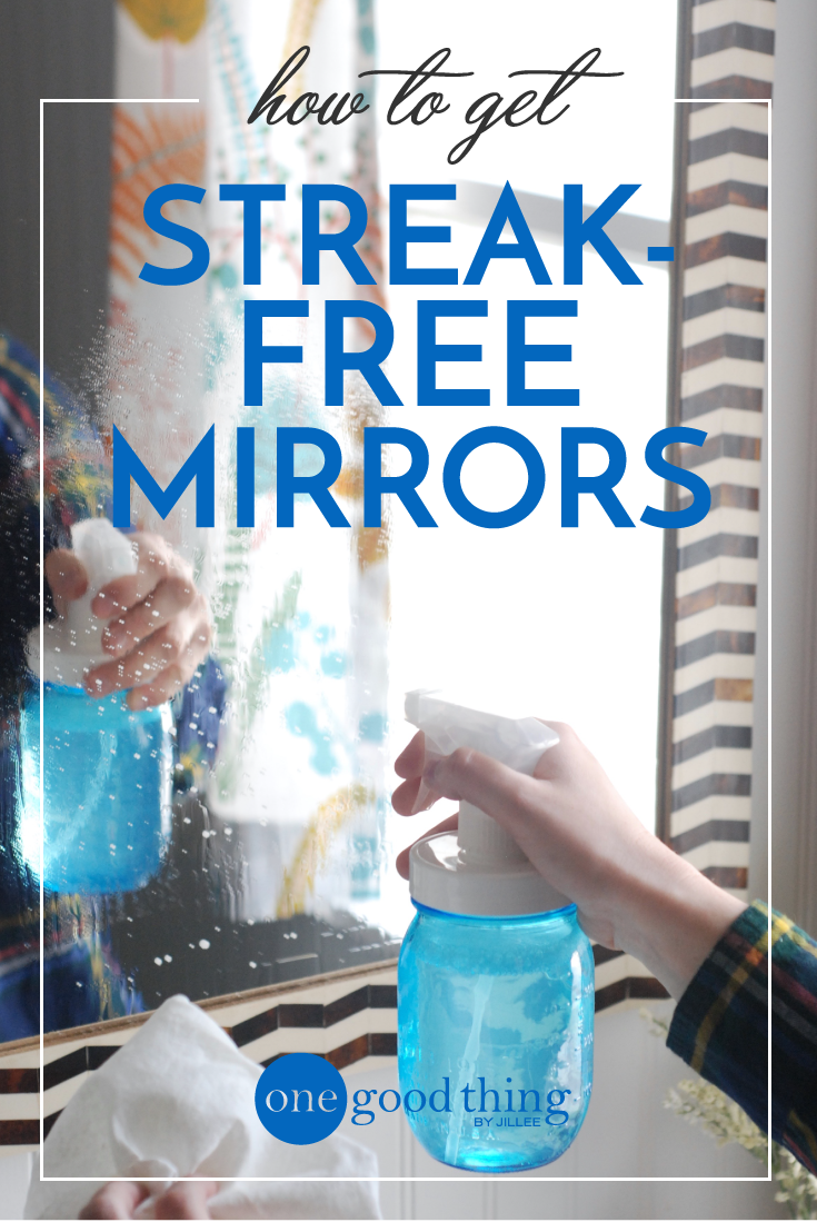 2 simple cleaners for streak free windows mirrors for How to clean bathroom mirror without streaks