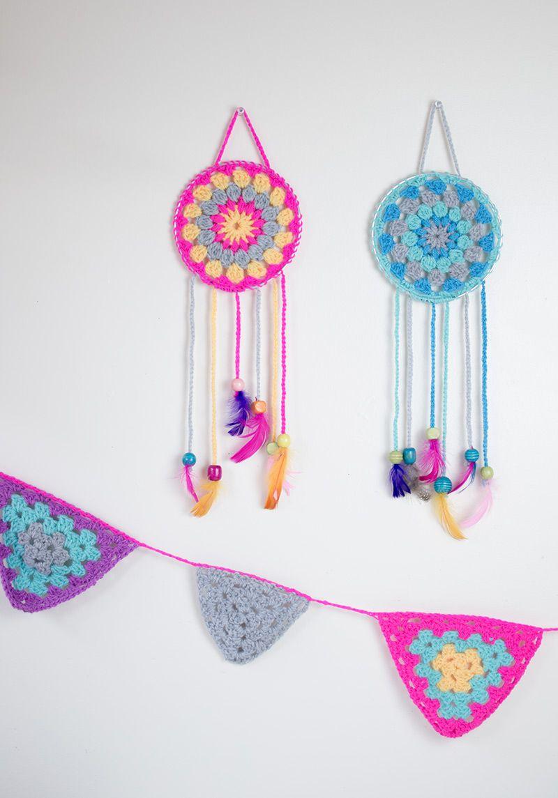 Crochet: How To Make Dream Catchers | Pinterest | Mandalas y Ganchillo