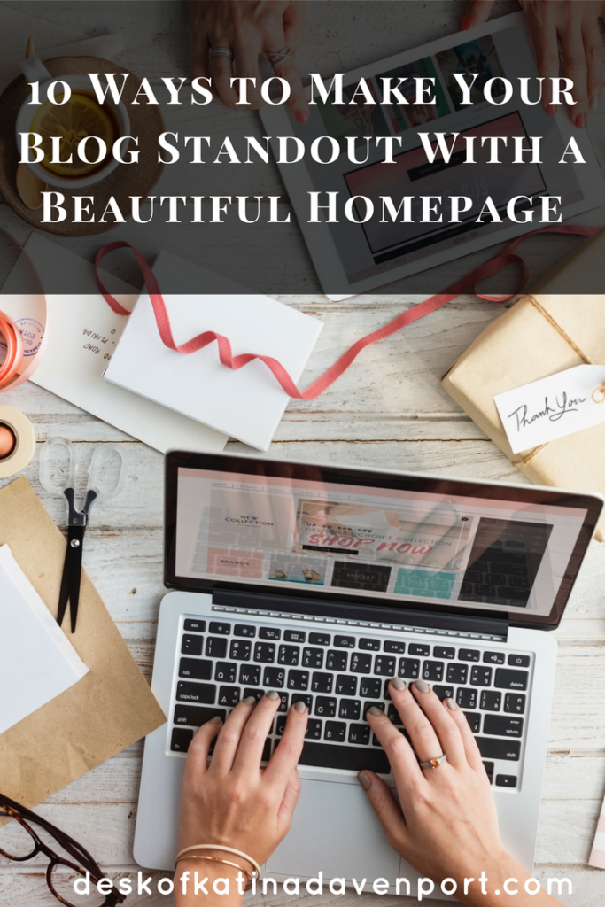 Webdesign for your blog homepage made easy. Find 10 ways you can make your blog homepage more easier to navigate for your readers.