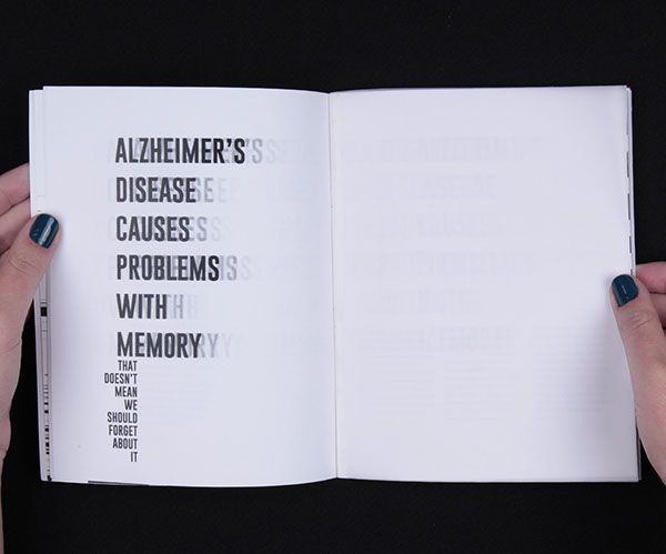 ISTD - Everything About One Thing: Alzheimer's Disease on Behance