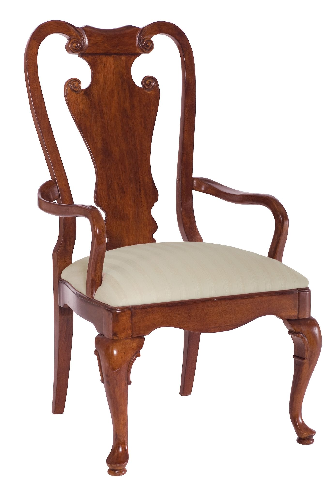 American Drew Cherry Grove Splat Back Arm Chair Chair Lexington Furniture Furniture