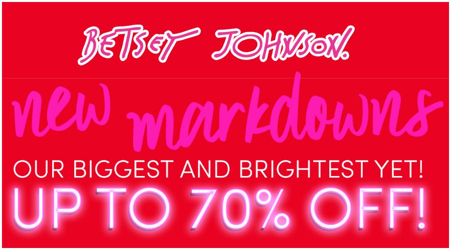 New Markdowns Added Up To 70 Off Sale Clearance No Promo Code Needed Store Bananarepublicfactorystor Betsey Betsey Johnson Banana Republic Factory Store