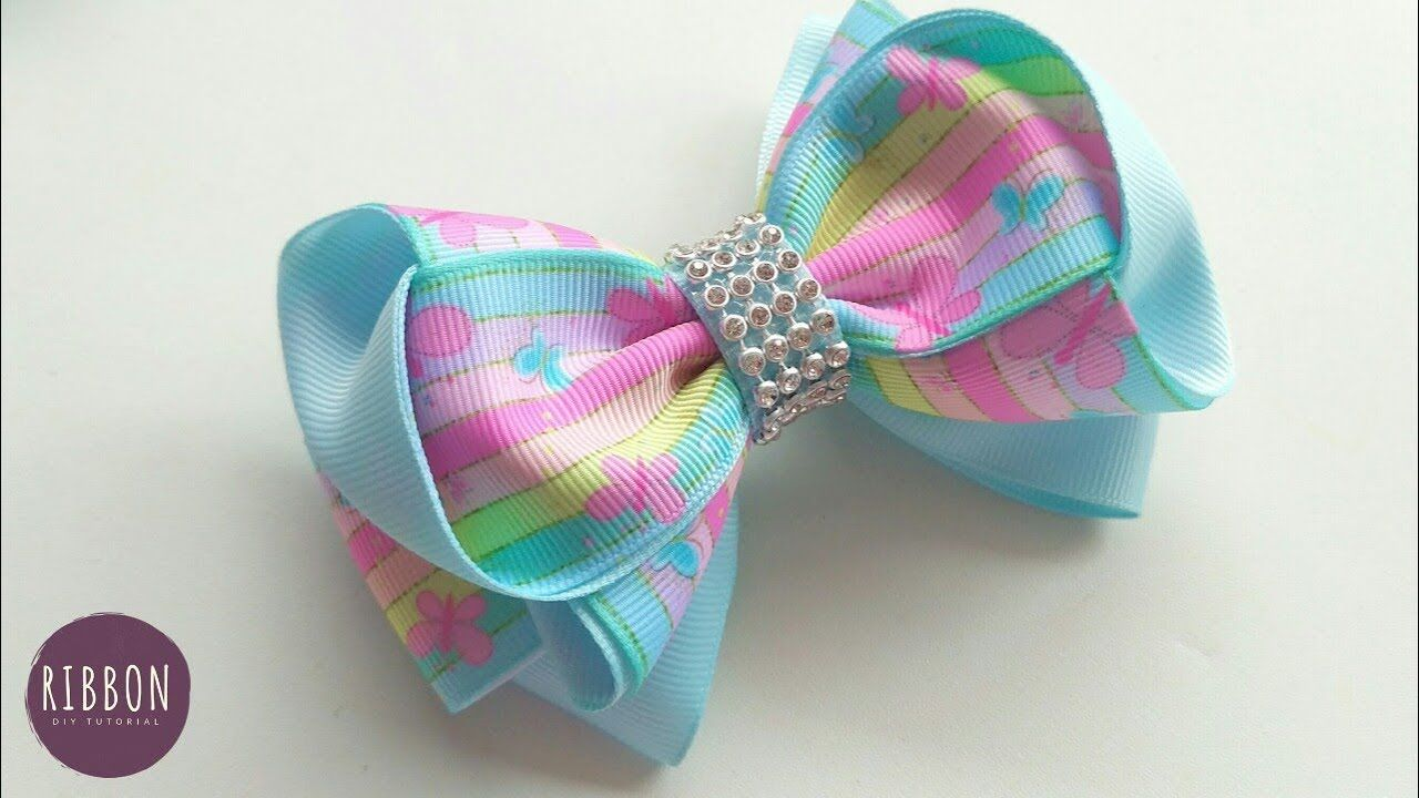 Ribbon Bow Tutorial | Step by Step How To Make Beautifull Ribbon Bow #33