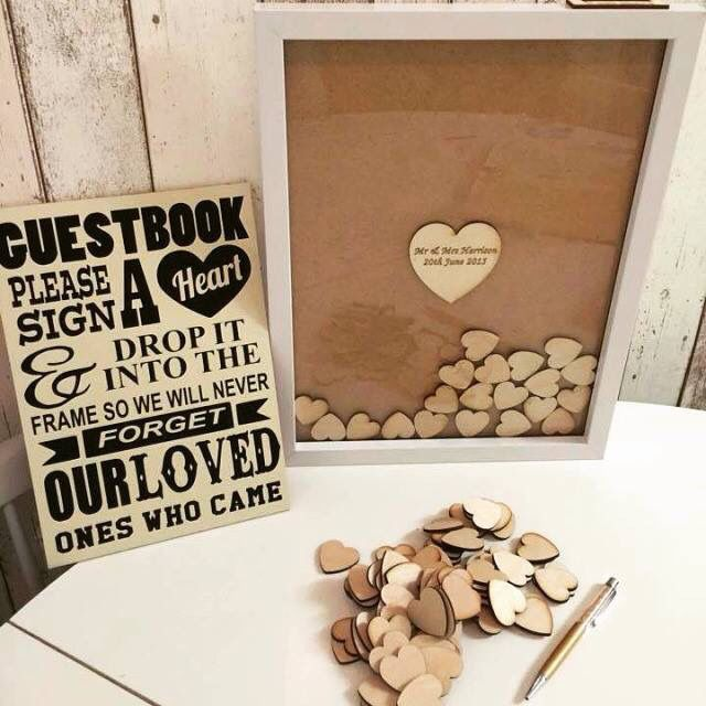 Cute idea for a guest sign in