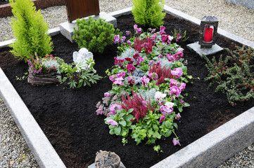 grabbepflanzung allerheiligen #friedhofsblumen