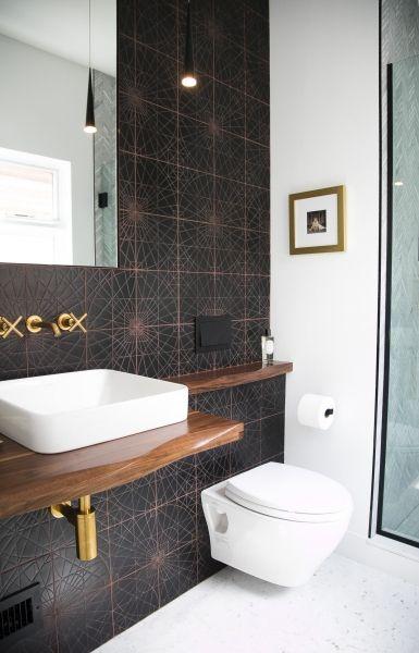 KISMET COPERNICUS Ceramic Tile ONYX Glaze Private Residence - Bathroom tile chicago