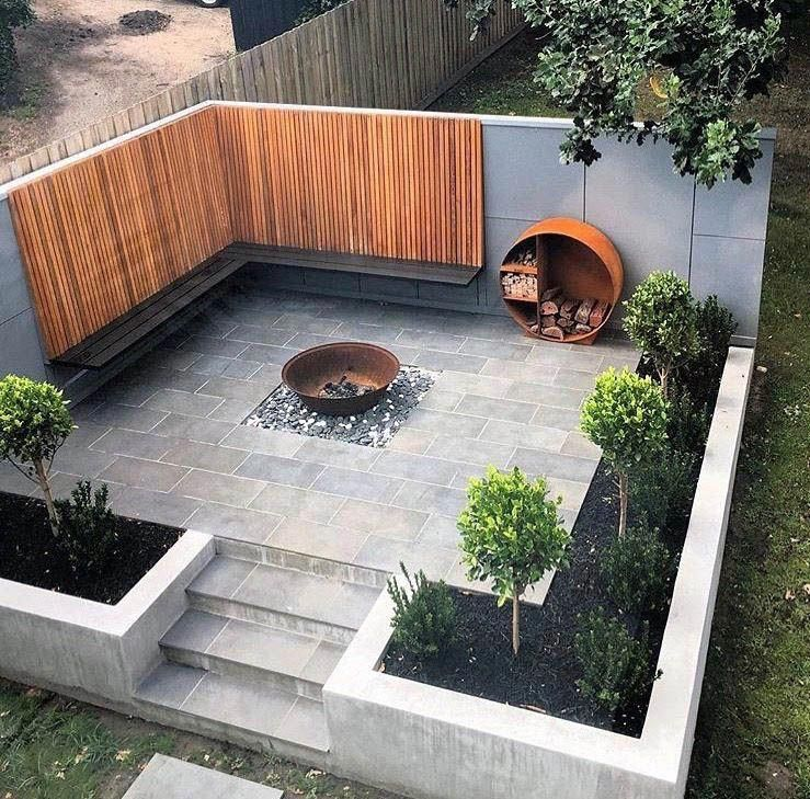 Nice stone patio fire pit ideas on this favorite site #firepitideas