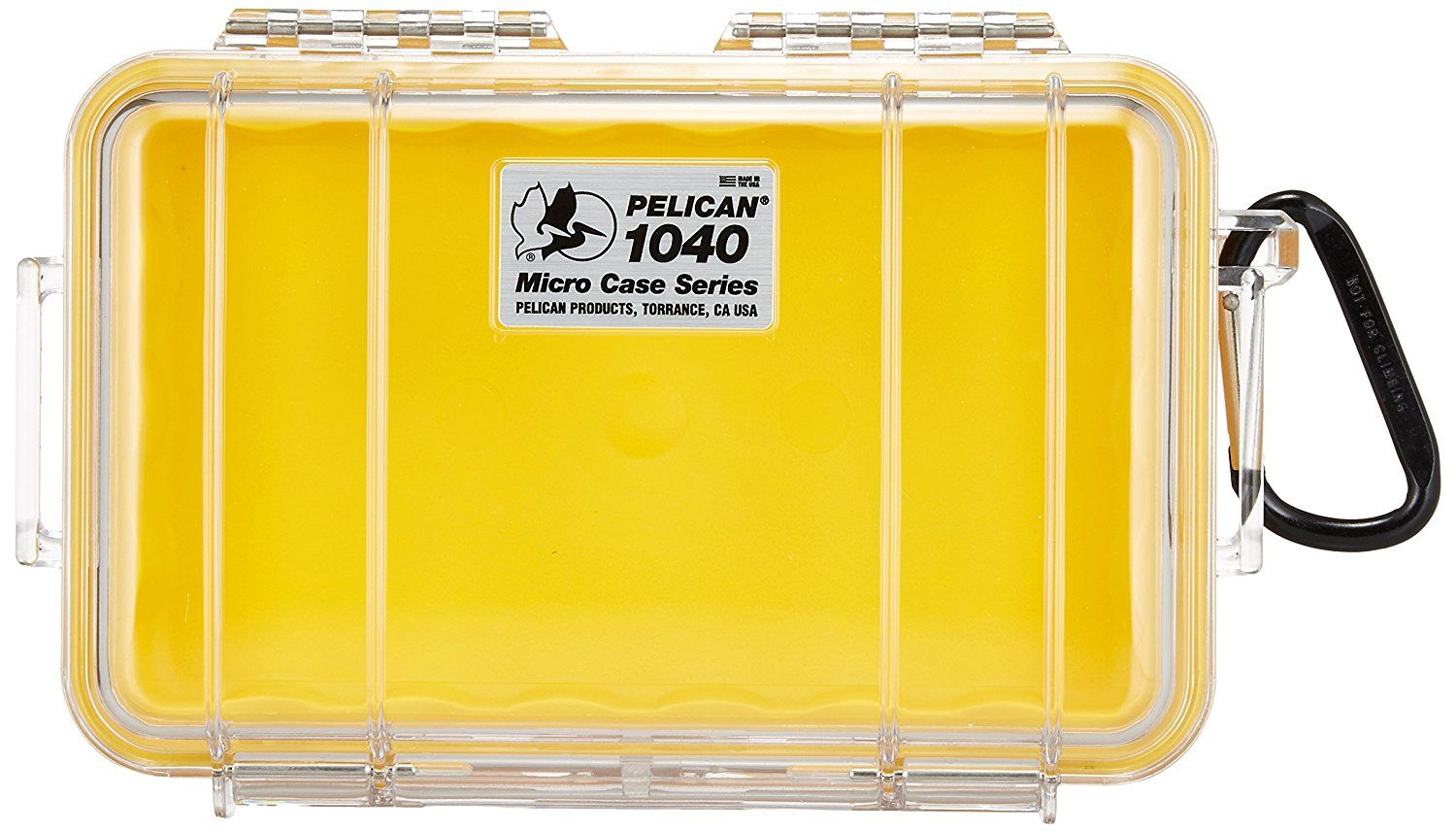 CASE, 1040 MICROCASE, YELLOW CLEAR >>> Want additional info? Click on the image.