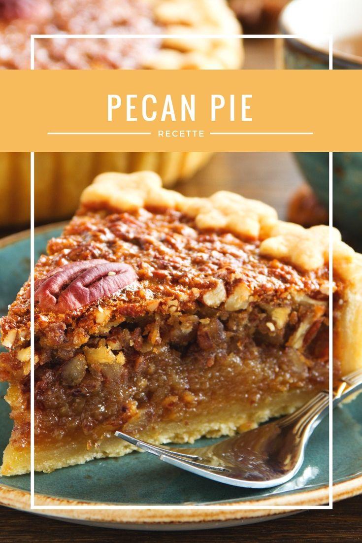 pecan pie recette recettes americaines tarte aux. Black Bedroom Furniture Sets. Home Design Ideas