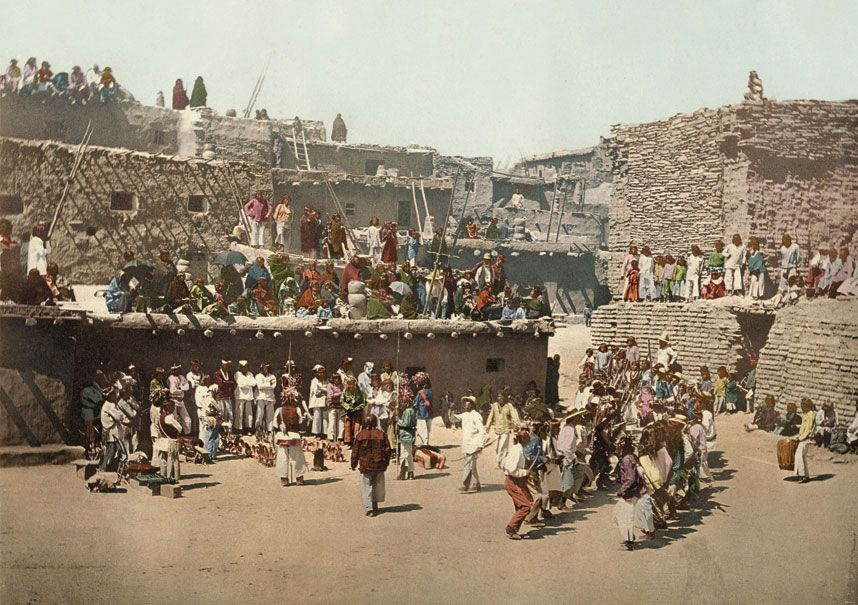 The first colour photographs of America - Telegraph. (New Mejico)