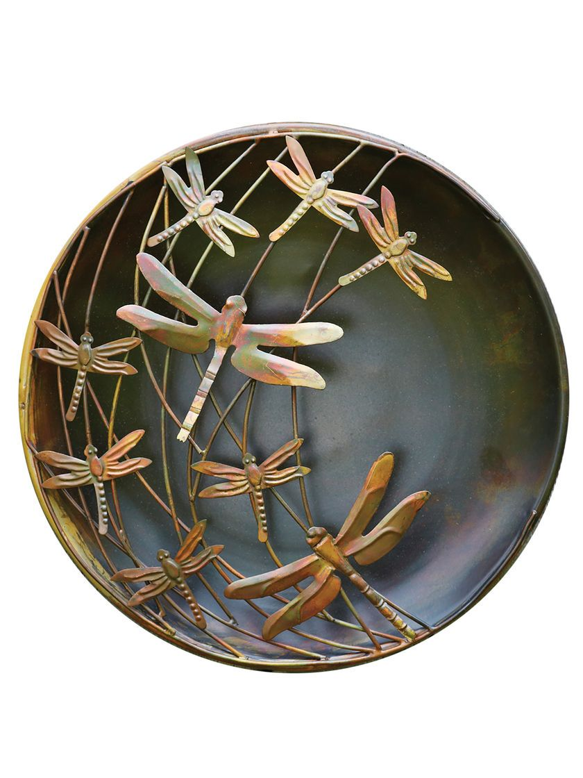 Metal Dragonfly Outdoor Wall Decor
