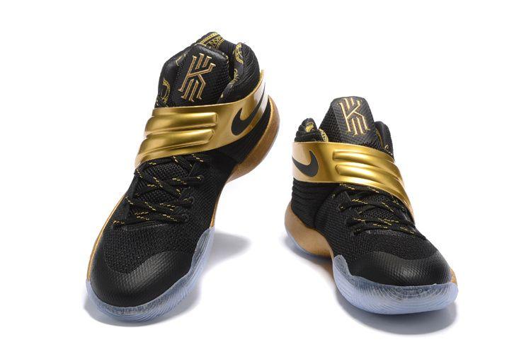 Nike-Kyrie-2-Black-Gold-Mens-Basketball-Shoe-