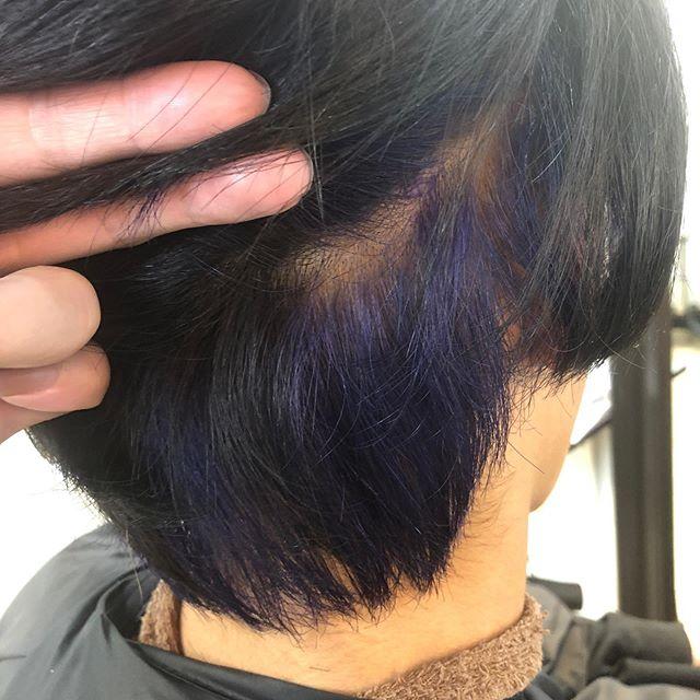 Miik Mitsuiさんはinstagramを利用しています ブルー インナー