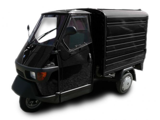piaggio ape 50 kasten schwarz piaggio ape 50. Black Bedroom Furniture Sets. Home Design Ideas