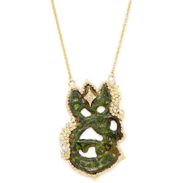 Armenta 18k Sueno Artifact-Inspired Pendant Necklace cxLZxJFx6I