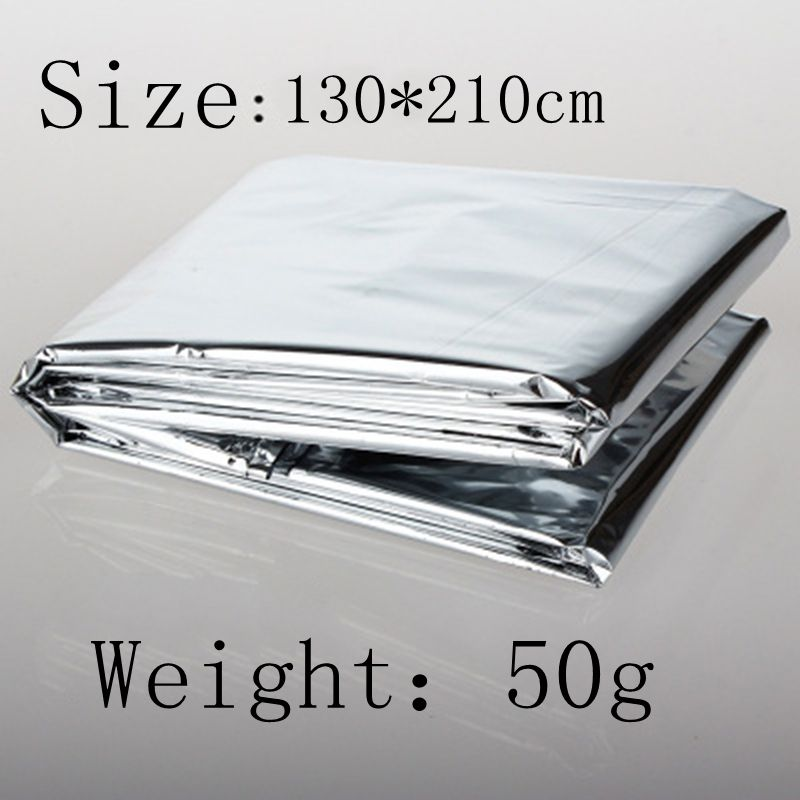 130*210cm Emergency Blankets Earthquake Silver Accessories