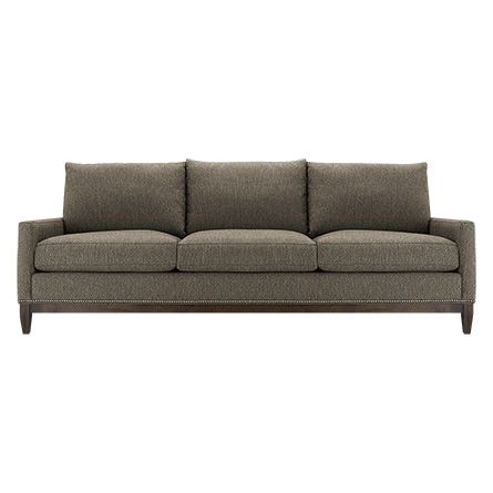 Baxter 88 Upholstered Sofa In Taranto Linen Linens Sitting Rooms And Living Room Furniture