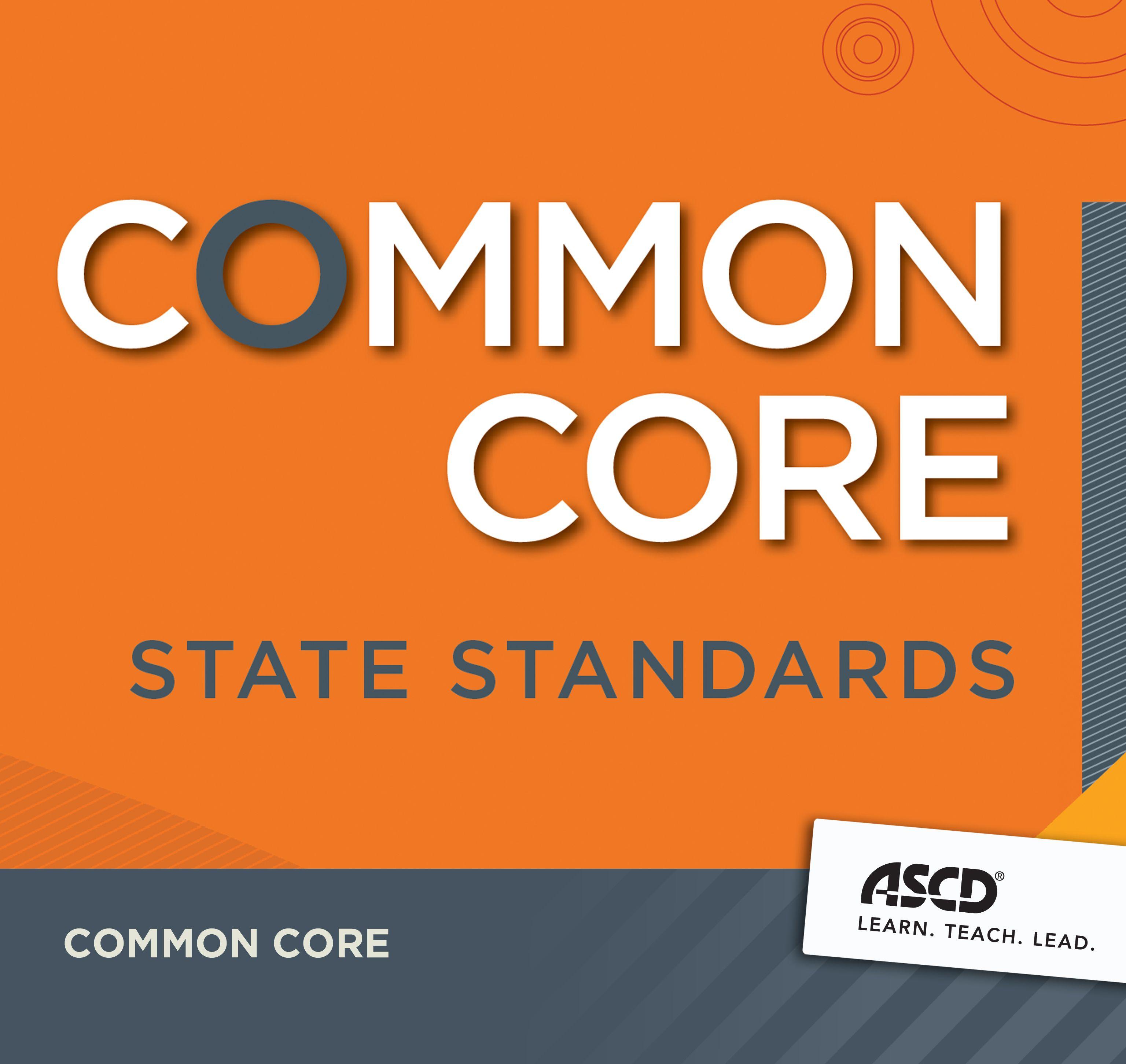 Check Ascd' Common Core Resources