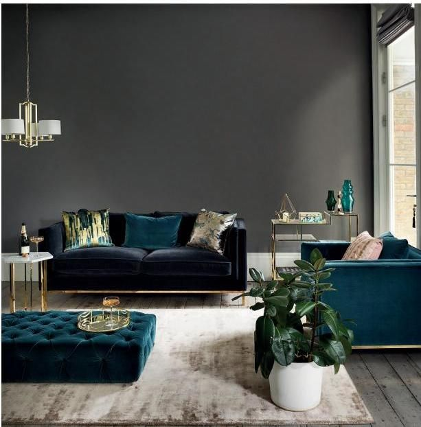 Rte Guide Interiors Spring 2017 Dark Living Rooms Home Decor