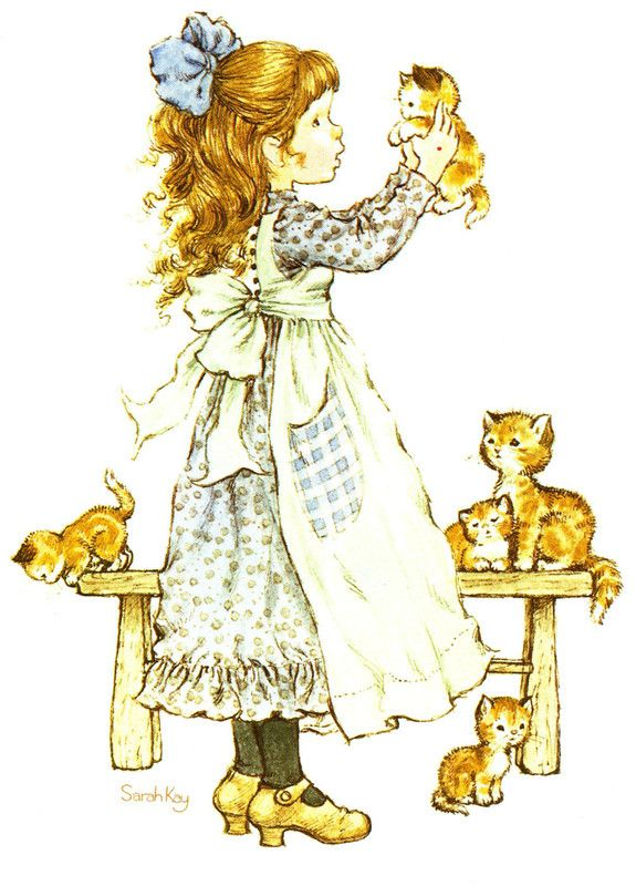 Sarah Kay and her little cats