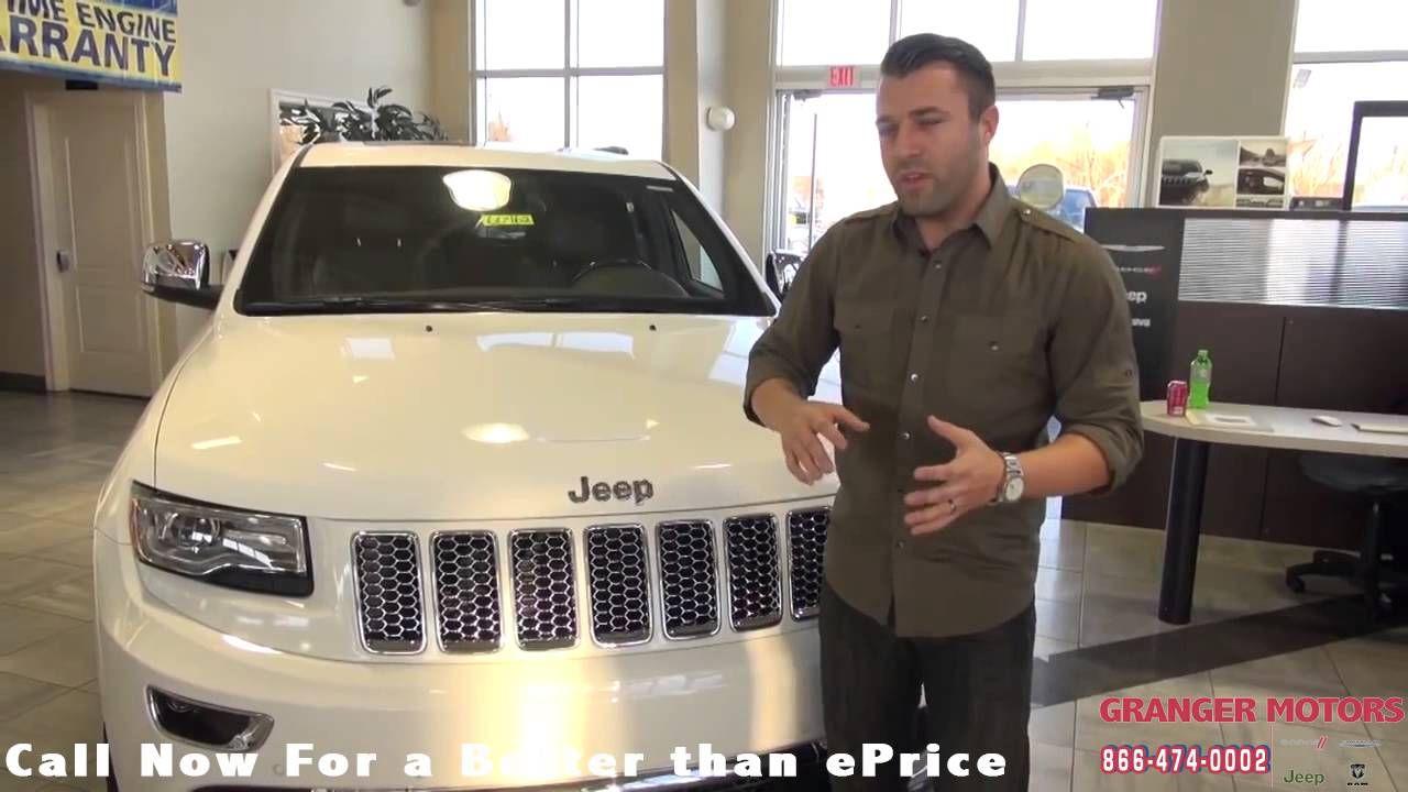 2015 JeepGrandCherokee Summit Review GrangerMotors