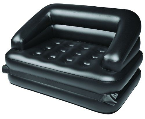 Inflatable Sofa Bed. Can Put It In The Living Room Tent For Daytime Use And