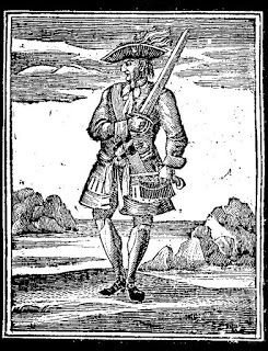 The Dandy of the Caribbean - Calico Jack Rackham, via Helen Hollick at English Historical Fiction Authors