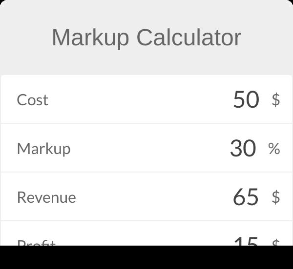 Markup Calculator Math Calculator Calculator How To Find Out