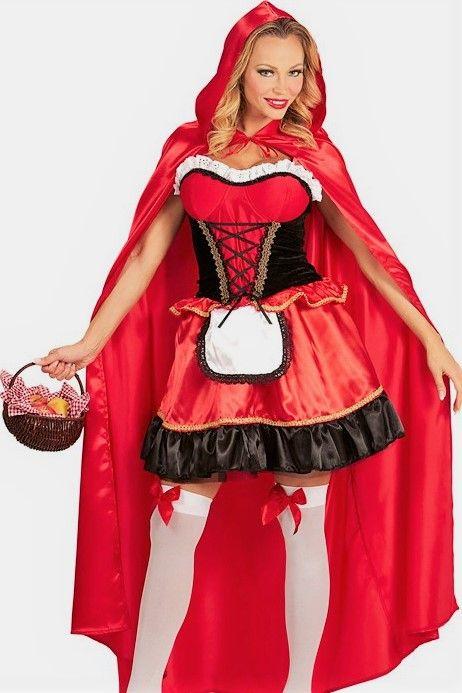 märchenhaftes kostüm ruby für damen  rotkäppchen kostüm