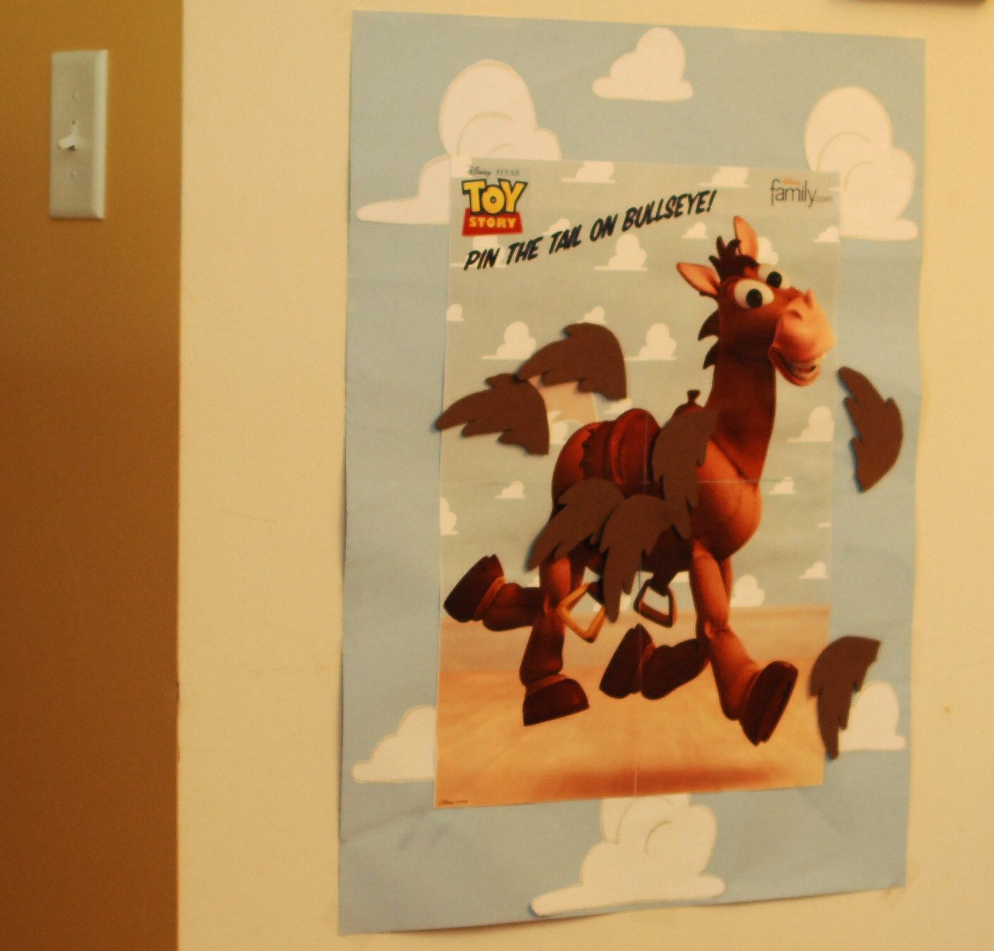 Pin The Tail On Bullseye Make Your Own Foam Or Felt Pony