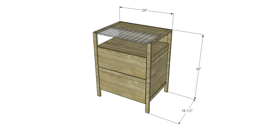 Free Plans To Build A Crate Barrel Inspired Brey File