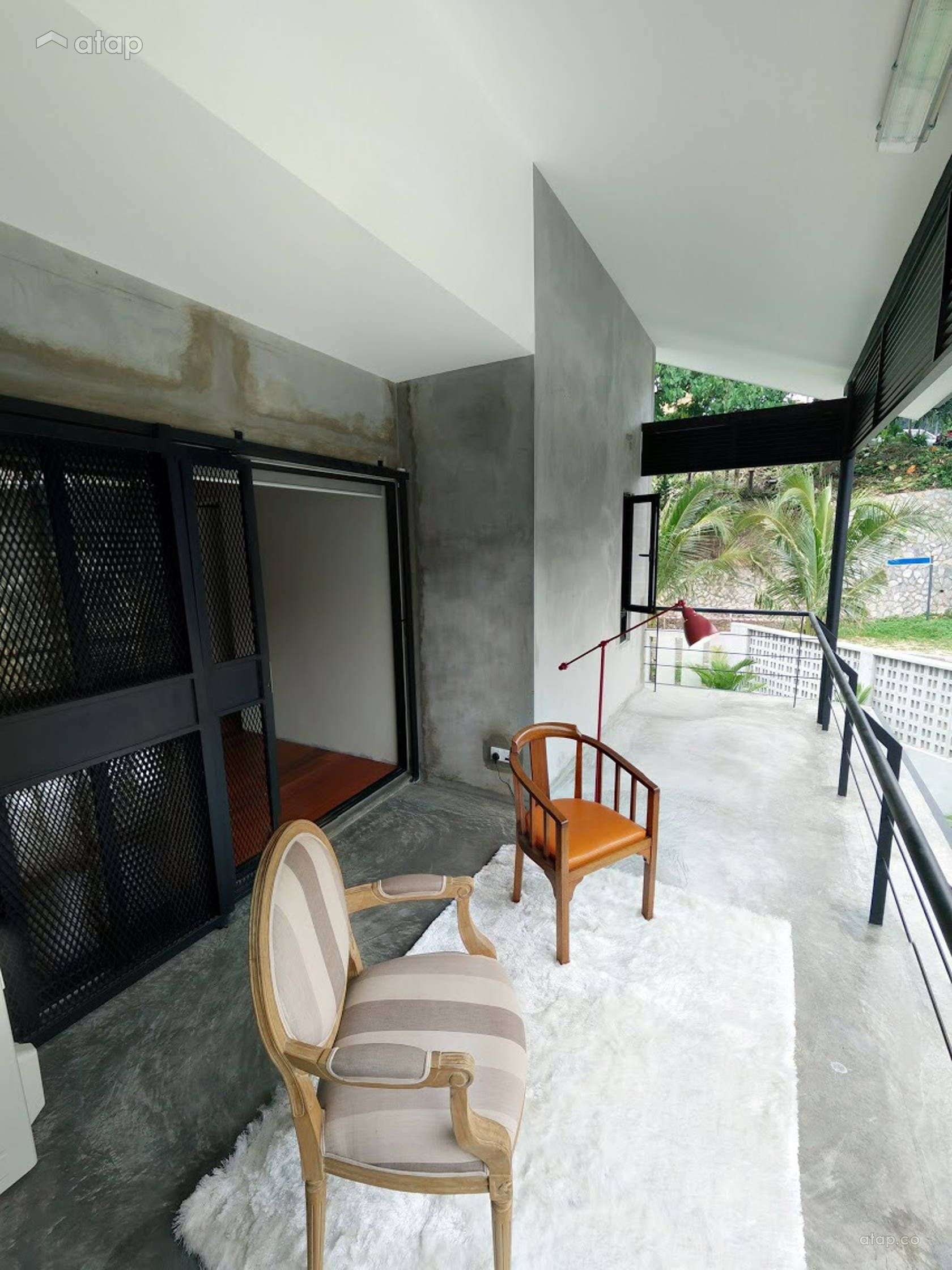 Home Design Ideas Malaysia: Industrial Balcony Terrace Design Ideas & Photos Malaysia