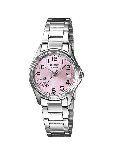 54a915525882 Casio LTP-1369D-4BVEF - Reloj analógico de cuarzo para mujer con correa  acero inoxidable
